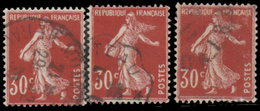 France 1937. ~ YT 360a Par 3 - 30 C. Semeuse Camée (III) - 1906-38 Semeuse Con Cameo