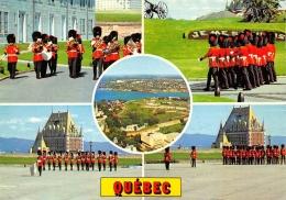 CANADA  QUEBEC   RELEVE DE LA GARDE A LA CITADELLE  VUES MULTIPLES - Québec - La Citadelle