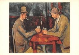 PEINTURE  CEZANNE  LES JOUEURS DE CARTES - Schilderijen