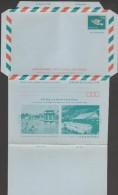 Taiwan 1973. Aérogramme à 2 NT$, Pour Hong Kong Et Macao. Architecture De Taiwan - 1945-... República De China