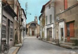 AIGUES VIVES - L'église.(carte Vendue En L'état). - Aigues-Vives