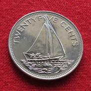 Bahamas 25 Cents 1991 KM# 63.2 - Bahamas