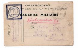 1940 - CARTE FM De GONDRECOURT LE CHATEAU (MEUSE) Pour Le STALAG VI / A - FM-Karten (Militärpost)