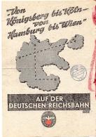Propaganda Flugblatt Deutsche Reichsbahn 01.11.1939 - 1939-45