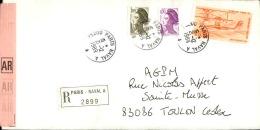 FRANCE - Enveloppe Voyagée En Poste Navale - Détaillons Collection - A Voir - Lot N° 20692 - Postmark Collection (Covers)