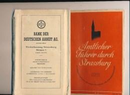 Guides - B2378  -  67  - Strasbourg - Amtlicher Führer Durch Strassburg ( Voir + De Détails En Description) - Tourism