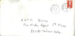 FRANCE - Enveloppe Voyagée En Poste Navale - Détaillons Collection - A Voir - Lot N° 20699 - Postmark Collection (Covers)