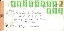FRANCE - Enveloppe Voyagée En Poste Navale - Détaillons Collection - A Voir - Lot N° 20700 - Postmark Collection (Covers)