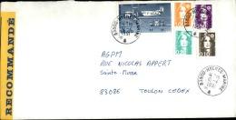 FRANCE - Enveloppe Voyagée En Poste Navale - Détaillons Collection - A Voir - Lot N° 20702 - Postmark Collection (Covers)