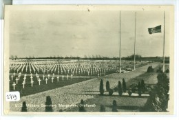 MARGRATEN * U.S. MILITAIRY CEMETERY * LIMBURG * ANSICHTKAART * CPA * GELOPEN IN 1947 VAN WITTEM NAAR DELFT  (2719) - Margraten