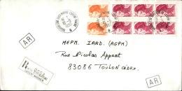 FRANCE - Enveloppe Voyagée En Poste Navale - Détaillons Collection - A Voir - Lot N° 20704 - Postmark Collection (Covers)