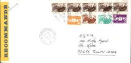FRANCE - Enveloppe Voyagée En Poste Navale - Détaillons Collection - A Voir - Lot N° 20707 - Postmark Collection (Covers)