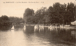 CPA BORDEAUX - LE PARC BORDELAIS - UN COIN DU PARC - Bordeaux