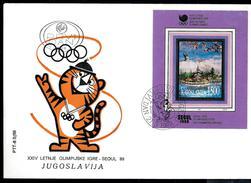 Yugoslavia 1988: XXIV Olympic Summer Games; Seoul '88