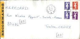 FRANCE - Enveloppe Voyagée En Poste Navale - Détaillons Collection - A Voir - Lot N° 20714 - Postmark Collection (Covers)