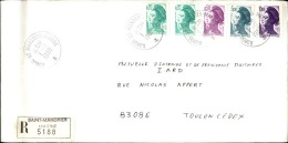 FRANCE - Enveloppe Voyagée En Poste Navale - Détaillons Collection - A Voir - Lot N° 20715 - Postmark Collection (Covers)