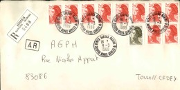 FRANCE - Enveloppe Voyagée En Poste Navale - Détaillons Collection - A Voir - Lot N° 20720 - Postmark Collection (Covers)