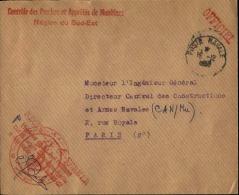 FRANCE - Enveloppe Voyagée En Poste Navale - Détaillons Collection - A Voir - Lot N° 20726 - Marcophilie (Lettres)