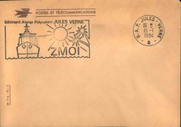 FRANCE - Enveloppe Voyagée En Poste Navale - Détaillons Collection - A Voir - Lot N° 20727 - Postmark Collection (Covers)
