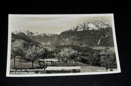114- Blick Von Der Alpenwirtschaft Hochlenzer Auf Watzmann Und Steinernes Meer - Deutschland
