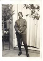 CHASSEUR ALPIN  ENTRE OLIVIER ET ORANGER   13X9cm - Guerre, Militaire