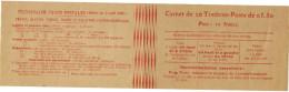 Carnet De 20 Timbres 199 - C 48 Avec Insription Postale Sur Couverture ** - Definitives