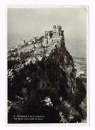 Repubblica Di S.Marino - La Rocca Vista Dalla II Torre - Timbre /Stamp - Saint-Marin - San Marino - Saint-Marin