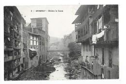 ANNONAY  (cpa 07)  Rivière La Cance -     - L 1 - Annonay