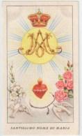 SANTINO  HOLY CARD - SANTISSIMO NOME DI MARIA  - ED.G.MI 236 ** Ediz. D´epoca, Senza C - Devotieprenten