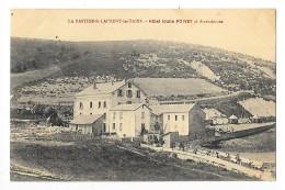 LA BASTIDE St LAURENT LES BAINS  (cpa 07)  Hôtel Idalle POIVEY Et Dépendances - RARE -    - L 1 - Annonay