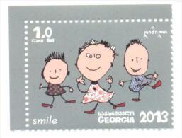2014. Georgia, Smile (Childrens), 1v, Mint/** - Georgia