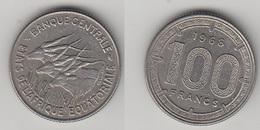 BANQUE CENTRALE - ETATS DE L'AFRIQUE EQUATORIALE  -  100 FRS 1968 - Centrafricaine (République)