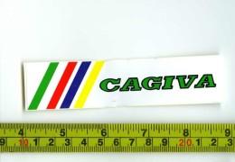 Cagiva Adesivo Concessionario Originale Nuovo Anni '80 - Genuine Factory Sticker - Moto