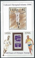 Fiji  1996  Sc#766  $2 Olympics Souv Sheet MNH**  2016 Scott Value $4 - Fiji (1970-...)