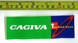 Cagiva Adesivi Concessionari Originali Nuovi Anni '80 - Genuine Factory Stickers - Moto