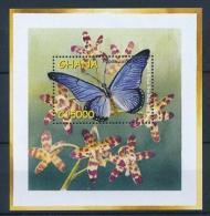 [30401] Ghana 2002 Butterflies Schmetterlingen Papillons  MNH Sheet - Unclassified