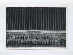 1936 3. Reich Propagandakarte  Reichsparteitag Appell Der Politischen Leiter Zeppelinwiese Nachts Ungebraucht - Briefe U. Dokumente