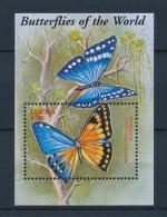 [38592] Liberia 2001 Butterflies Schmetterlingen Papillons  MNH Sheet - Unclassified