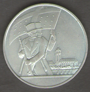 SVIZZERA 150 JAHRE GTADTSRHUTZEN BERN 1818 - 1968 AG SILVER - Gettoni E Medaglie