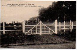 Clôtures Normandes Sur Poteaux En Ciment Armé - Etablissement PICHON Et VARIN - 1 Rue De La Couture Bernay - Bernay