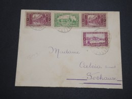 FRANCE / ALGÉRIE - Enveloppe De Bône Pour La France En 1937 - A Voir - L 5328 - Storia Postale