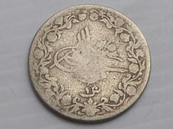 Egypte Ottomane 1   QIRSH Abdul Hamid II - AH1293 (23  ) Km#  299 Cupronickel   TB+ - Egypte