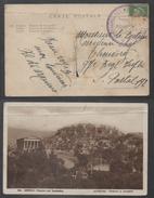 POSTE MARITIME - PAQUEBOT PIERRE LOTI - TYPE PASTEUR / CARTE POSTALE D'ATHENES POUR SECTEUR POSTAL 192 (ref 7288) - Marcophilie (Lettres)