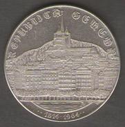 SVIZZERA MEDAILLE SUISSE REPUBLICA GENEVA 1814-1964 AG SILVER - Gettoni E Medaglie