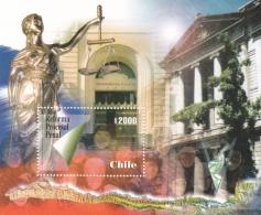 Chile Reforma Procesal Penal Souvenir Sheet MNH/** (H23) - Cile