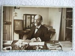 CARTE POSTALE / PHOTO DE MR BOHN CHEF DES T.P DE ZOOLOGIE / DATÉ 1929 / CHERCHEUR / PERSONNALITÉ - Célébrités