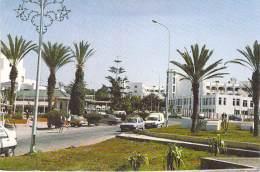 MAGHREB - MAROC - AGADIR : Le Centre Ville ( Automobiles Diverses) - CPSM GF Postée 1998 - Agadir