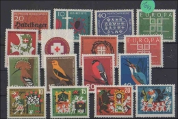 BRD     Postfrisch        MiNr. 396-411 - Non Classés