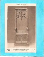 DEPT 71 - Musée De CLUNY - Une Stalle - Art Français Commencement Du XVIème Siècle - ENCH - - Cluny