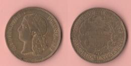 Expo 1889 Exposition Universelle Centenarie Medaille - Professionali / Di Società